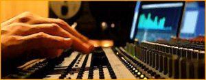 Producción de audio para vídeo.